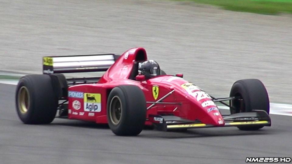 1995 Ferrari F1 412 T2 EPIC V12 Sound!