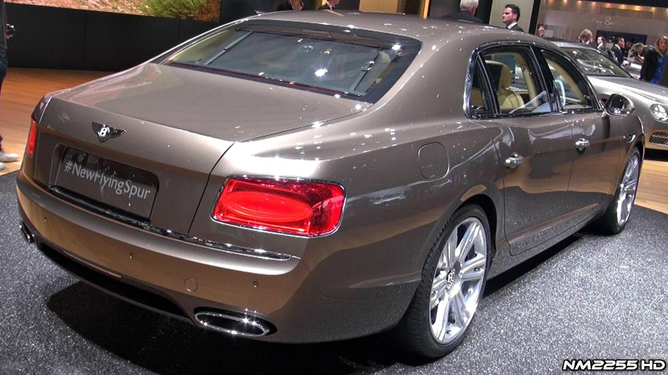 2014 Bentley Flying Spur in Depth Look – 2013 Geneva Motor Show