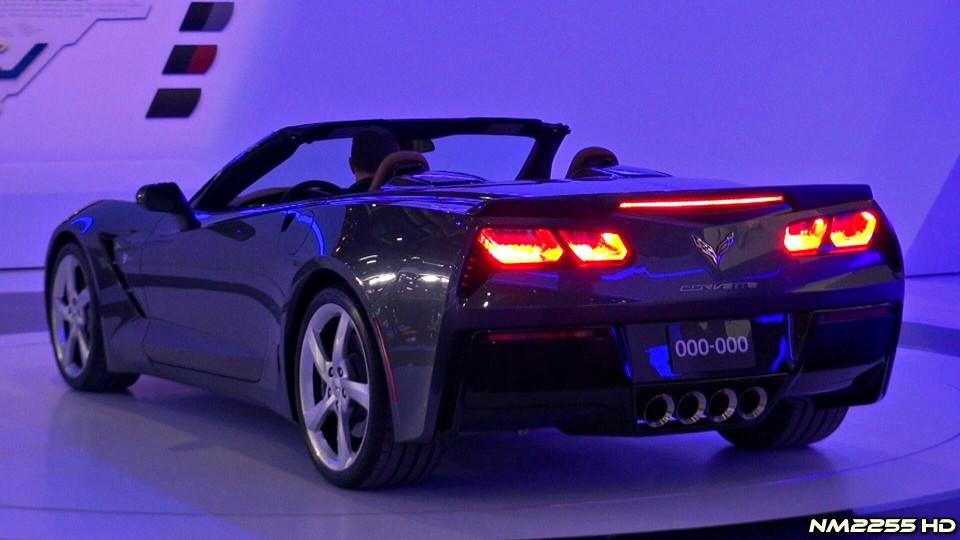2014 Corvette C7 Stingray Convertible Start Up – 2013 Geneva Motor Show