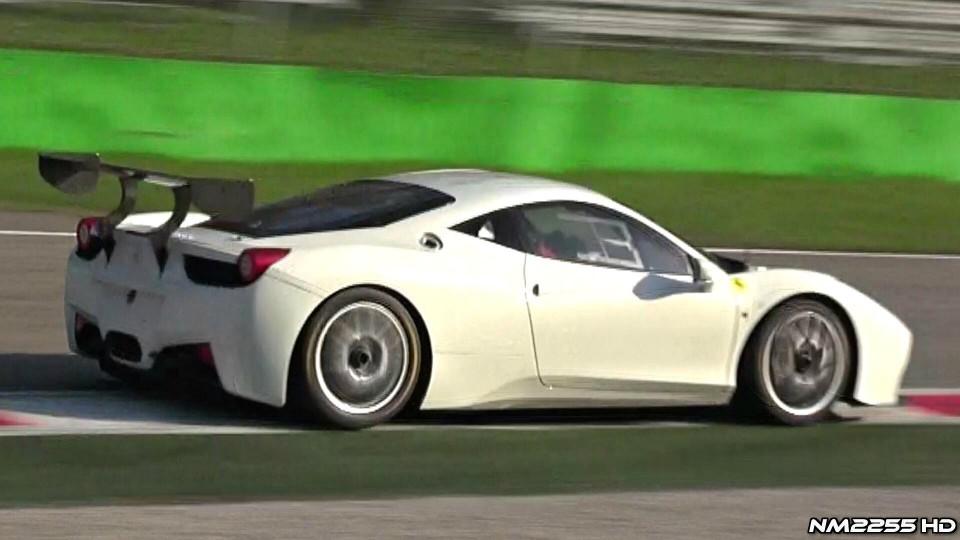 2014 Ferrari 458 Challenge Evolution Exhaust Note