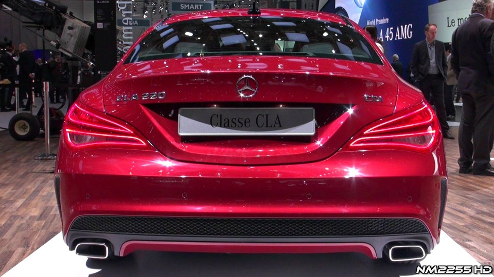2014 Mercedes CLA Sport AMG in Depth Look – 2013 Geneva Motor Show