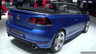 2014 VW Golf R Cabriolet in Depth Look – 2013 Geneva Motor Show