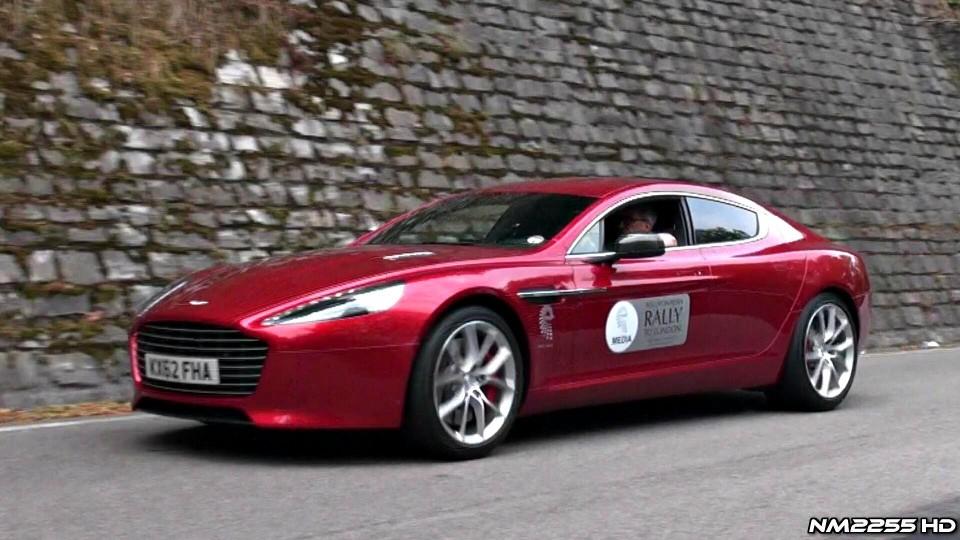 34x Aston Martins Accelerating – Vanquish, Rapide S, V8 Vantage and More!