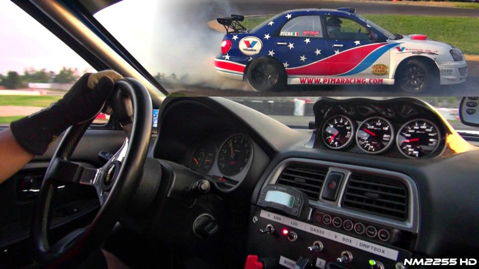 600rwhp Subaru Impreza EPIC Drifting OnBoard!!