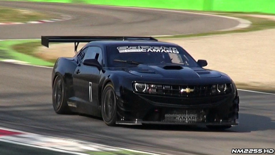 650HP Reiter Engineering Chevy Camaro GT3 on Track