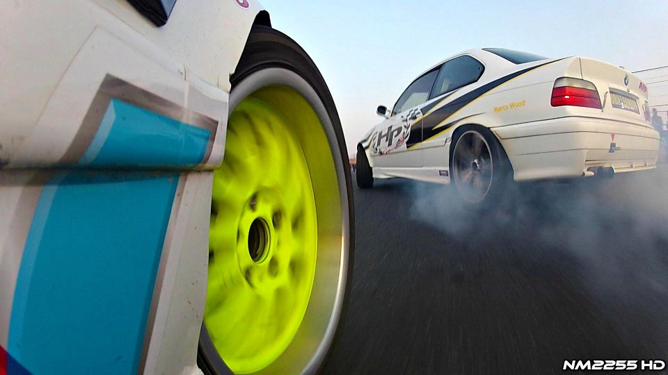 650HP Turbo BMW M3 E36 EPIC Drifting!