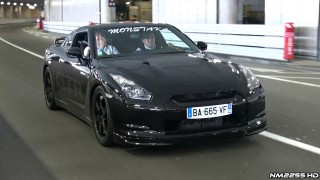 800HP Nissan GT-R LOUD Accelerations!
