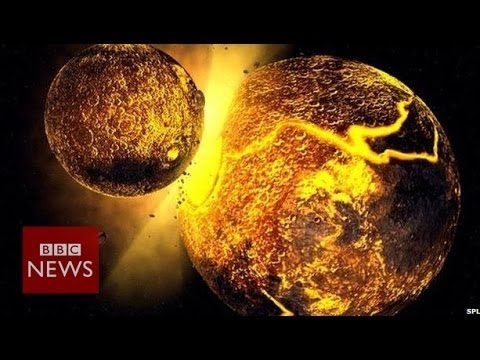 Another world 'crashed' into the Earth to form the Moon – BBC News