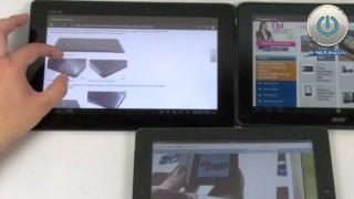 Битва планшетов с лучшими экранами: Apple против ASUS и Acer