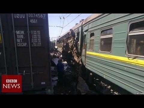 At least 5 dead in fatal train crash near Moscow – BBC News