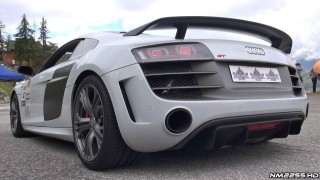 Audi R8 GT with Larini Exhaust System – EPIC V10 Sound!