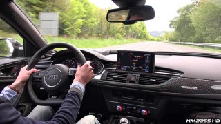 Audi RS6 C7 OnBoard Accelerations and Exhaust Revs