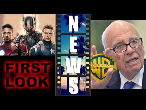 Avengers 2 – Ultron First Look! 20th Century Fox and Warner Bros merger?! – Beyond The Trailer