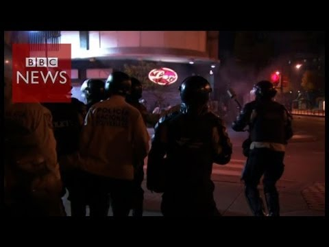 Battles in the streets of Caracas – BBC News