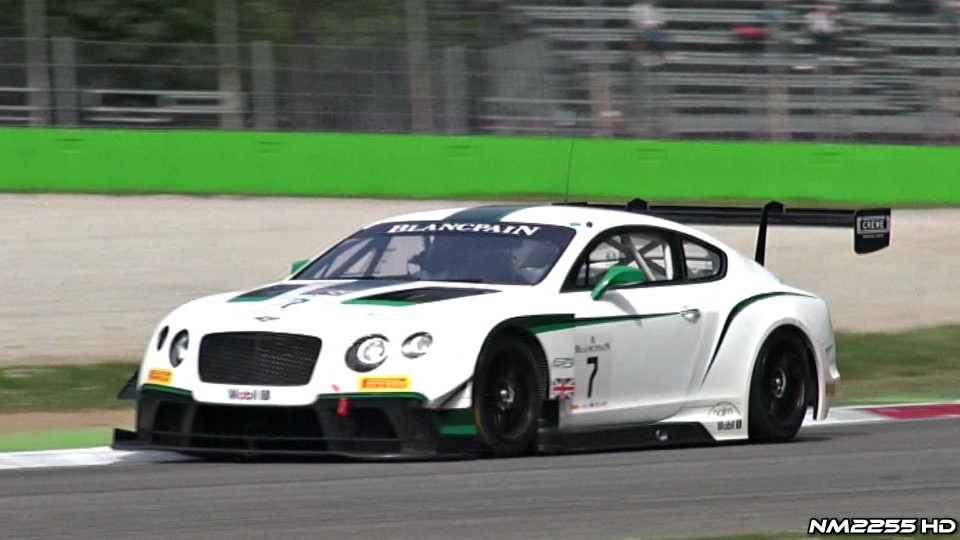 Bentley Continental GT3 Twin Turbo V8 Sound
