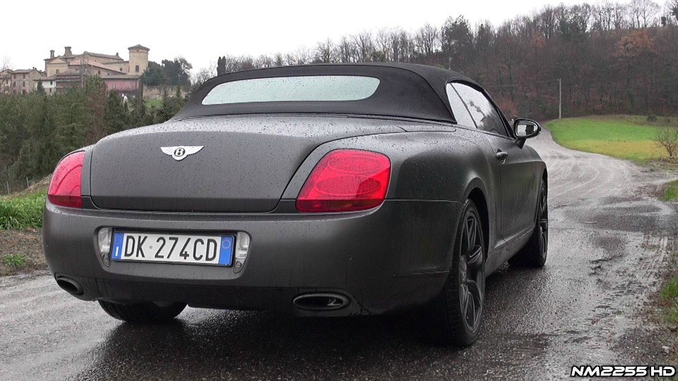 Bentley Continental GTC with Capristo Exhaust Sound