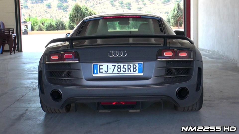 Best of Audi R8 GT V10 Exhaust Sound!