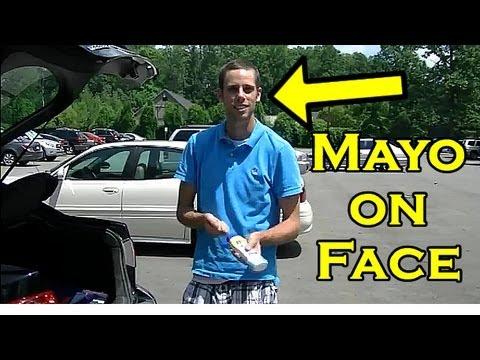 Best Pranks : Mayonnaise Sunblock Funny Prank