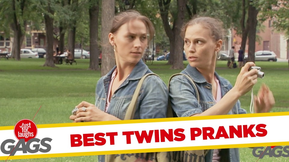 Best Twins Pranks – Best of Just for Laughs Gags