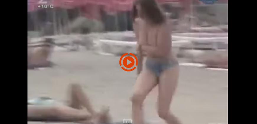 Al mare i bikini impazziti scappano via, aiuto !