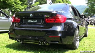 BMW M3 F80 Exhaust Sound – Start Up and Revs