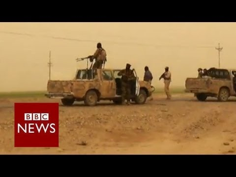 """Bodies on the road"" as insurgents seize Tikrit – BBC News"