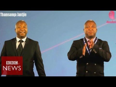 Bogus Mandela interpreter appears in advert – BBC News