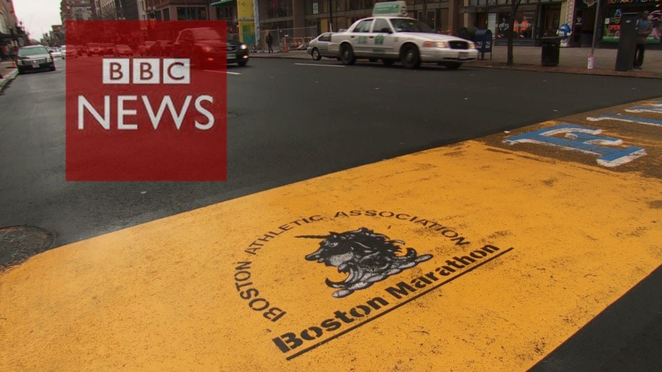 Boston marathon bombings: 1 year on – BBC News