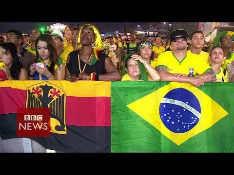 Brazil in shock after World Cup humiliation against Germany – BBC News