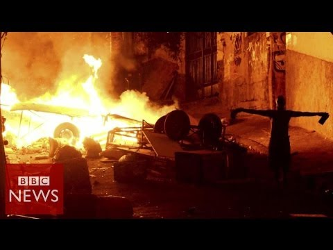 Brazil protesters in Rio clashes over dancer's death – BBC News