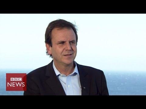 'Brazilians have the right to protest' says Rio Mayor Eduardo Paes – BBC News