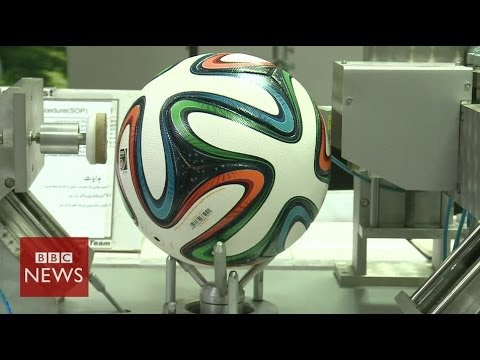 Brazuka: Official World Cup ball to be used in Brazil – BBC News