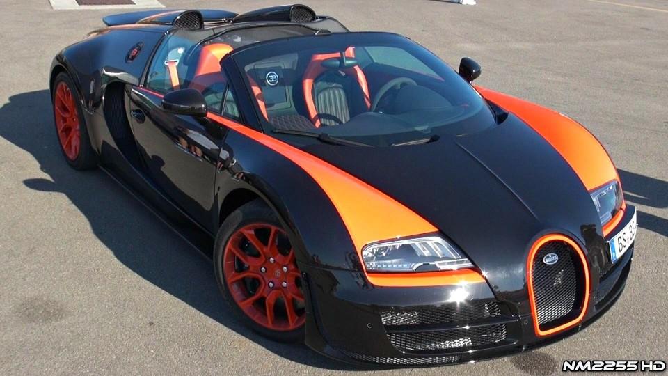 Bugatti Veyron Vitesse WRE Exhaust Sound – Starts and Revs