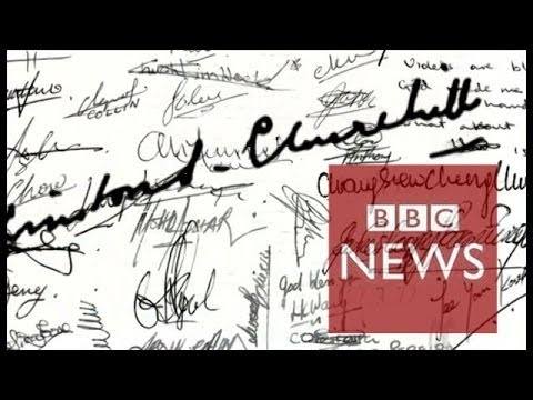 Can signatures survive the digital age? – BBC News