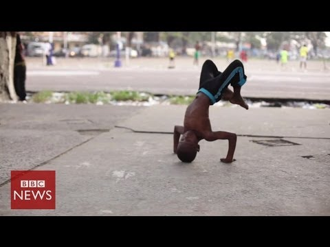 Capoeira lessons for the children of DR Congo – BBC News