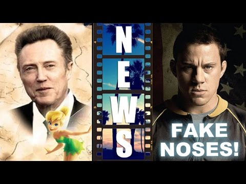 Christopher Walken in Peter Pan LIVE, Channing Tatum's fake nose in Foxcatcher – Beyond The Trailer