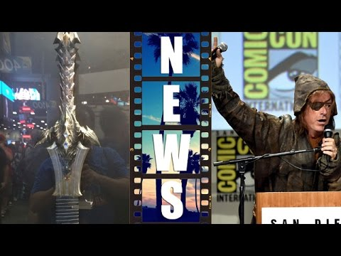 Comic Con 2014 Warcraft & The Hobbit The Battle of the Five Armies – Beyond The Trailer