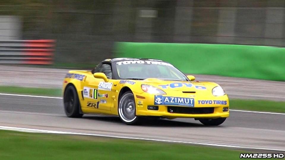 Corvette ZR1 Loves Going Sideways