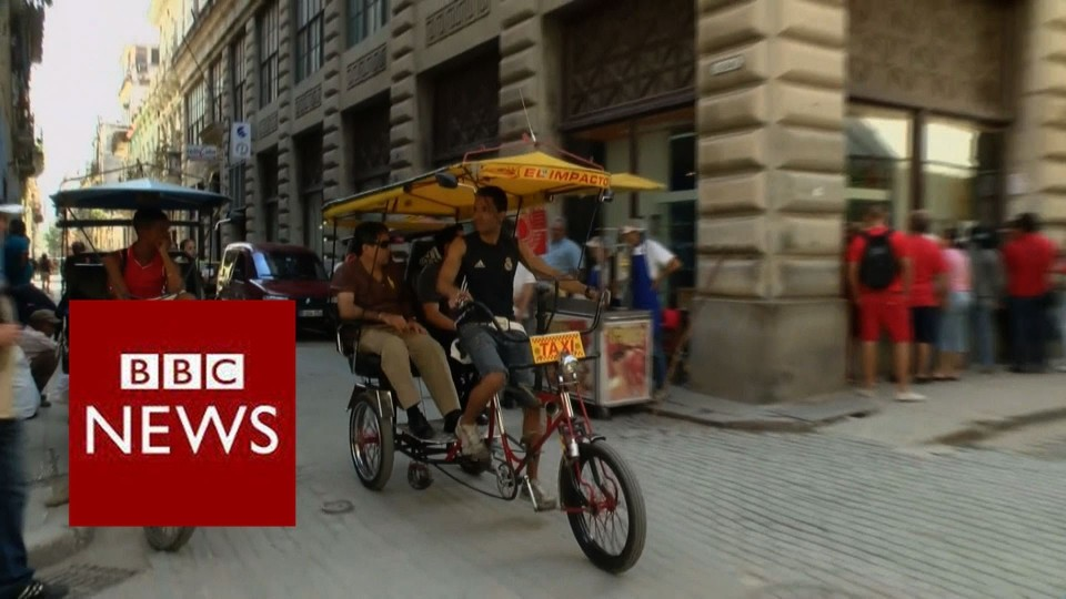 Cuba goes online – BBC News