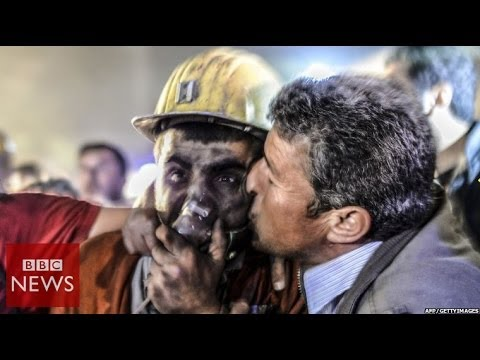 Desperate search at Turkey mine after explosion – BBC News