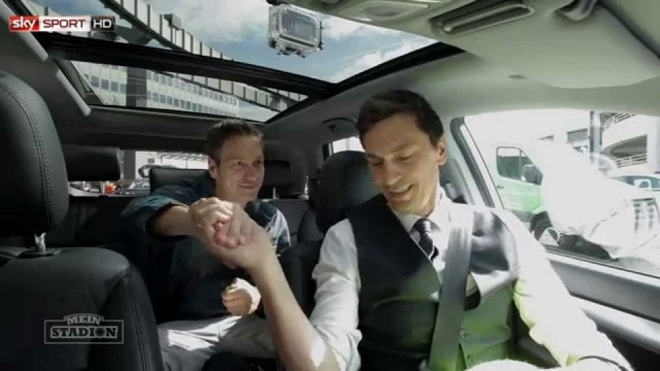Dieter Nuhr im Sky Taxi – Mein Stadion, 32. Spieltag, Saison 2013/2014
