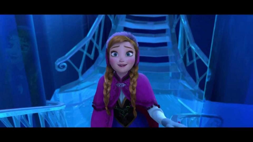 "Disney's Frozen – ""Elsa's Palace"" Extended Scene"