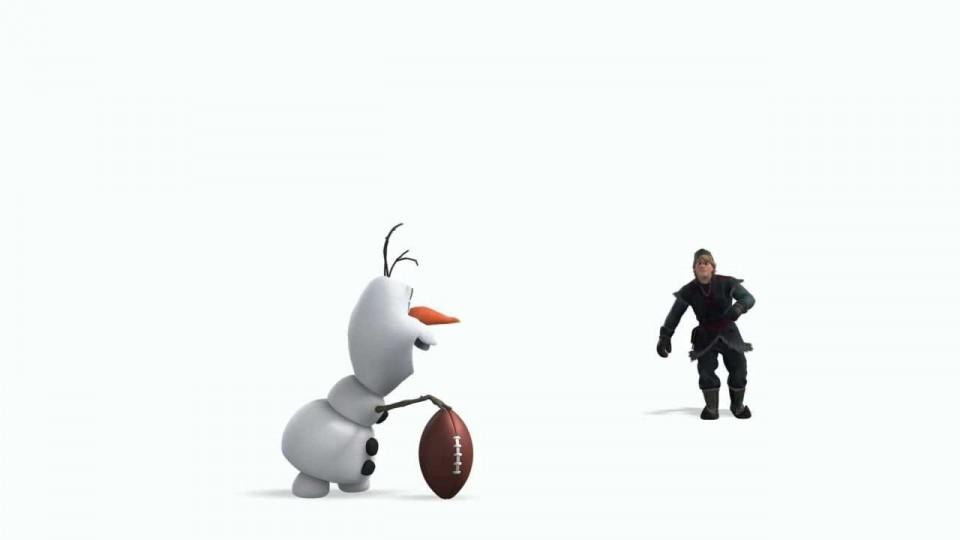 Disney's Frozen – Super Bowl Sunday