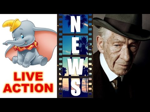 Disney's Live Action Dumbo, Ian McKellen is Sherlock Holmes in Mr Holmes 2015 – Beyond The Trailer