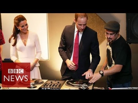 DJ Duke: Will & Kate hit the decks – BBC News