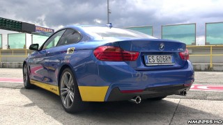 Driving the BMW 435i Coupé on Track