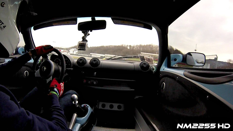 Driving the Lotus Elise Club Racer on Track