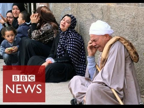 Egypt's crackdown on Muslim Brotherhood explained in 60 seconds – BBC News