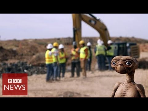 ET 'found' in New Mexico but is it Atari's 'worst ever game'? BBC News