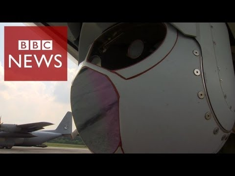 'Eye in the sky' searching for missing flight #MH370  – BBC News